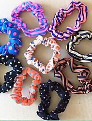 bandes de cheveux super-élastiques belle de mode (couleur aléatoire)