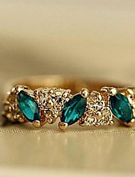 Women's Vintage Emerald Ring