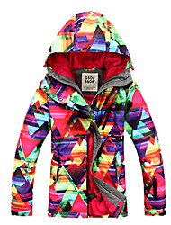 Gsou Snow Outdoor Windproof & Waterproof Women's Skiing Down Jacket