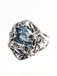 Fashionable Gems Men's Ring Christmas Gifts