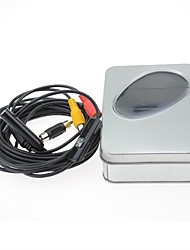мини AV водонепроницаемый эндоскопа змея 5м 10 мм камера осмотра