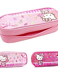 HELLO KITTY® Good Quality Cute Cartoon Pattern with Zipper Pen Bag for Kids