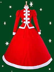 Fate Stay Night Saber Lily Red Christmas Dress