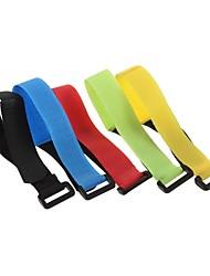 The Velcro Buckle Battery Cable Tie 20 MM Wide * 27 CM Long (1pcs, Random Color)