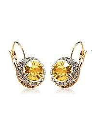 Dorado/Brillante/Diamante Casual para Mujer