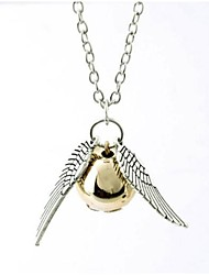 Gold Necklace Hallows Golden Snitch Necklace(1 Pc)