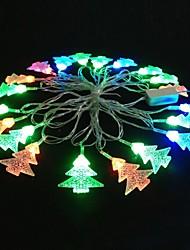 Christmas Tree 5M 4.8W Christmas Flash 20-LED RGB Light Strip Light Lamp (EU Plug , AC 110-220V)