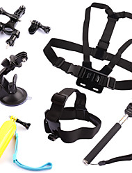 Accessories For GoPro,Chest Harness Front Mounting Monopod Suction Cup Straps Hand Grips/Finger Grooves Mount/Holder Floating, For-Action