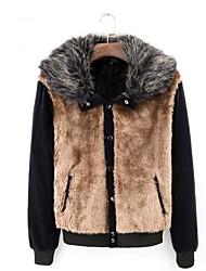 Skymoto®Men's Fur Collar Fleece Lining Cotton Coat(More Color)