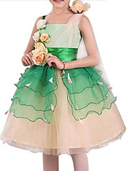 Flower Fairy Kids Christmas Costume