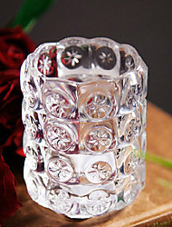 European Style Glass Candle Holder