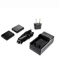 Ismartdigi-Panasonic DMW-BCJ13 x2 (1250mAh,3.6V) Camera Battery+EU Plug+Car Charger For P Panasonic LX5 LX7 D-LUX5