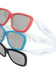miopía circular gafas polarizadas película teatro estereoscópicas gafas 3d para TCL, Hisense, Skyworth tv
