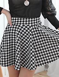 chorlito patrón mini falda de las mujeres