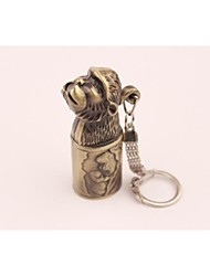Creative Monkey Metal Windproof Butane Lighter Bronze
