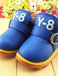 Zapatos de bebé - Botas - Casual - Semicuero - Azul / Rojo