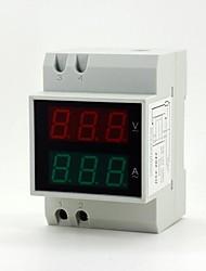 """0.55 """"6 cifre led misura amperometro / voltmetro digitale corrente / tensione"""