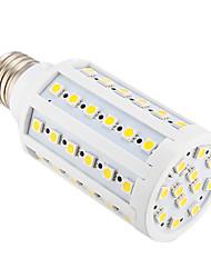 12W E26/E27 Bombillas LED de Mazorca T 60 SMD 5050 800 lm Blanco Cálido AC 100-240 V
