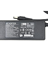 96W 24V 4A AC Power Supply Adapter for LED Light Strip and Surveillance Camera + More - Black (100~240V)