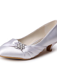 Черный / Синий / Желтый / Розовый / Фиолетовый / Красный / Айвори / Белый / Серебристый / Золотистый / Цвета шампанского - Женская обувь -