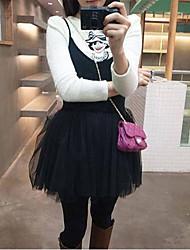 моде сладкие скобки гранатовый платье черного
