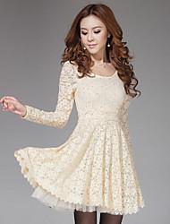 TS Splicing Lace Sheath Dress