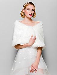 Wedding / Party/Evening / Casual Faux Fur Shawls Sleeveless Fur Wraps
