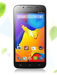 "VK C2000 5.0 "" Android 4.4 3G Smartphone (Dual SIM Quad Core 8 MP 1GB + 4 GB Black / White)"