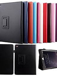 karzea® lichi grain veille automatique&réveil étui en cuir PU avec support et stylet pour iPad air 2 / ipad (6 couleurs assorties)