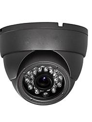 Outdoor Metal Dome 1/3 DIS 800TVL IR LED Security Video CCTV Camera