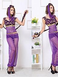 sedutor azul dançarino indiano, rosa, roxo vestuário das mulheres halloween traje m, xl