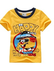 100% katoen zomer t-shirt jongen