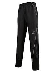 Outto® Pantalons de Cyclisme HommeEtanche / Garder au chaud / Séchage rapide / Pare-vent / La peau 3 densités / Bandes Réfléchissantes /