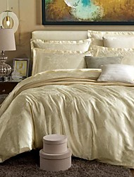 Duvet Cover Sets , Beige / Grey