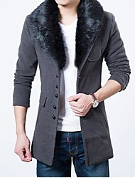 Men's Cloth And Woolly Coat