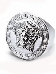 Fashionable Portrait Alloy Men's Ring