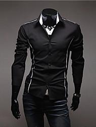 halei taillierten Männer Revers Neck Shirt