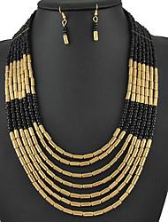 Yumfeel Women's Statement Hoops Modern Necklace: