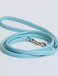 Cat / Dog Leash Adjustable/Retractable Red / Black / Blue / Pink / Purple PU Leather / PVC