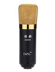DZL K600 bedrade condensator microfoon geluidsopname-apparatuur voor computers en karaoke