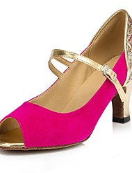 altos talones de las mujeres zapatos de baile latino personalizables sintéticas (más colores)