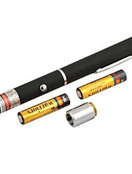 LT-8883 Adjustable Burning Red Pen Shape Laser Pointer(4MW.650nm.2XAAA.Black)