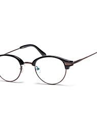 [Free Lenses] TR Round Full-Rim Lightweight Reading Eyeglasses