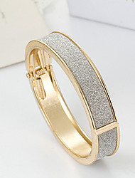 Vintage / Casual Gold Plated / Acrylic Cuff Bracelet