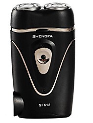 Shengfa® SF612 Electric Shaver Double Floating Shaver (US Plug)
