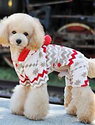 honden Jassen / Hoodies / Broeken / Kleding / Kleding Beige Winter Dieren
