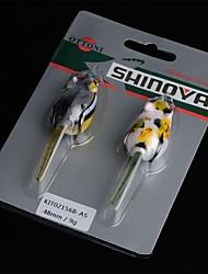 2pcs Mouse Shape Soft Fishing Lure 9g