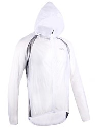 Men's Spring and Autumn Style Nylon Cycling Rain Coat Jacket with Hood