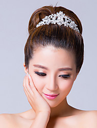 Women's Rhinestone/Alloy Headpiece - Wedding/Special Occasion Tiaras