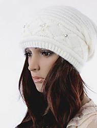 великолепный вариант горный хрусталь украшен шляпа белый